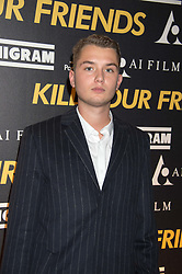 RAFFERTY LAW attends the Al Films and Warner Music Screening of Kill Your Friends held at the Curzon Soho Cinema, 99 Shaftesbury Avenue, London on 27th October 2015.