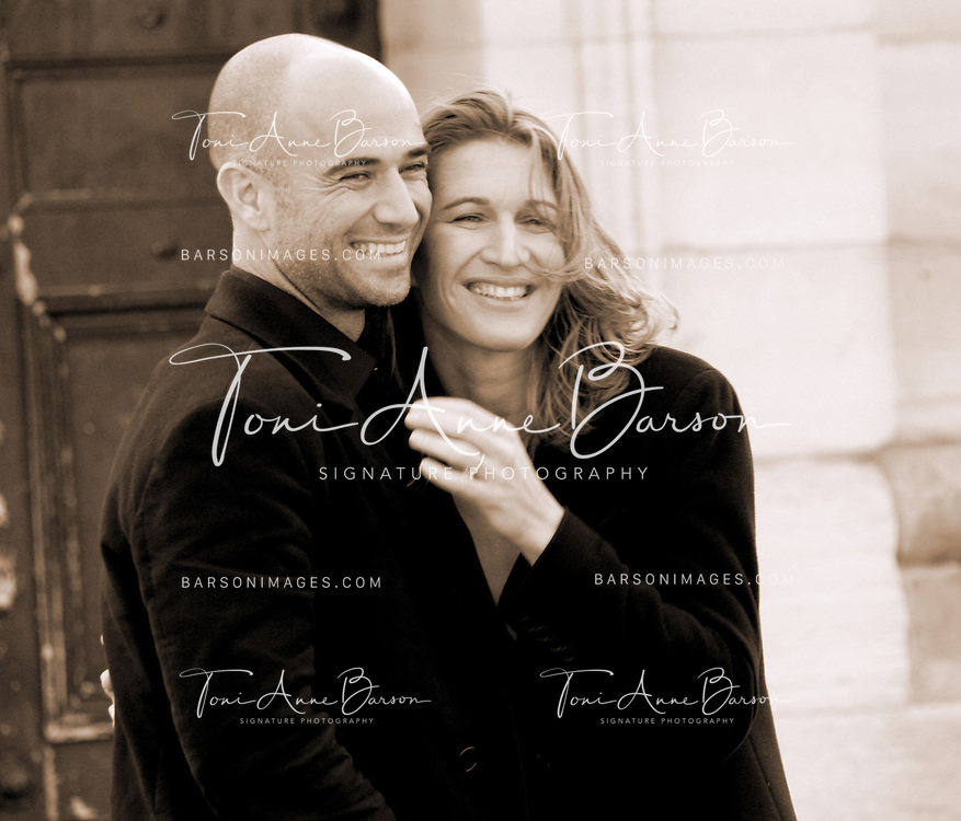 JH3T3747BW.jpg.Agassi & Stefi Graff Photo Shoot - Behind the Scenes.Paris,  France.October 25, 2004.Photo by Tony Barson/WireImage.com..To license this image (3774227), contact WireImage:.+1 212-686-8900 (tel).+1 212-686-8901 (fax).info@wireimage.com (e-mail).www.wireimage.com (web site)