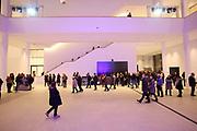 Mannheim. 15.12.17 |<br /> Kunsthalle. Neubau. Nachtaufnahmen von Aussen mit der Mesh-Fassade. Eröffnung<br /> <br /> Bild-ID 048 | Markus Proßwitz 15DEC17 / masterpress