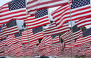 3,000 US flags marks 16th anniversary of 9/11 terror attack