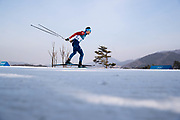 PYEONGCHANG-GUN, SOUTH KOREA - FEBRUARY 16: Jean Marc Gaillard  of France during the mens Cross Country 15k free technique at Alpensia Cross-Country Centre on February 16, 2018 in Pyeongchang-gun, South Korea. Photo by Nils Petter Nilsson/Ombrello               ***BETALBILD***