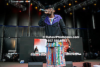 Mos Def performing at Nikon at Jones Beach Amphitheater for 'Rock The Bells' 2008 on August 3, 2008. . Rock The Bells