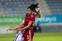 Spain's Leila Ouahabi during the frendly match between woman teams of  Spain and England at Fernando Escartin Stadium in Guadalajara, Spain. October 25, 2016. (ALTERPHOTOS/Rodrigo Jimenez)