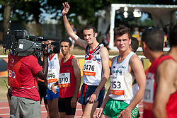 MILLER Dean, GBR, 1500m, T38, 2013 IPC Athletics World Championships, Lyon, France