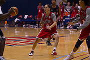 USA guard Sue Bird plays defense during the 2012 USA Women's Basketball team practice at Bender Arena  in Washington, DC.  July 15, 2012  (Photo by Mark W. Sutton)