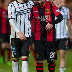 Dunfermline Athletic v Dumbarton SPFL Championship Season 2017/18 East End Park 25 November 2017<br />