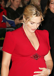 © Licensed to London News Pictures. 14/10/2013, UK. Kate Winslet, The BFI London Film Festival: Labor Day, Odeon Leicester Square, London UK, 14 October 2013. Photo credit : Richard Goldschmidt/Piqtured/LNP