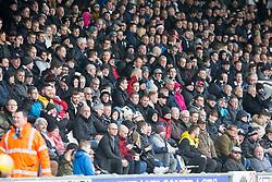 Fans during the Ladbrokes Scottish Premier League match at St Mirren Park, St Mirren.