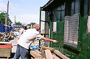 Post-war prefabs in Chesterfield and North Wingfield, Derbyshire, 2005