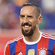Franck Ribery, Bayern Munich, during the FC Bayern Munich vs Chivas Guadalajara, friendly football match at Red Bull Arena, New Jersey, USA. 31st July 2014. Photo Tim Clayton