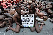 ANTI BULLFIGHTING PROTEST