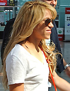 MADRID, SPAIN, MAY <br /> <br /> Shakira is in the news again following the insistent rumors that point she might be pregnant for the third time. Oblivious to all kinds of comments consecrated artist has set sail for his homeland, Colombia to shoot the video of the song The bicycle, Carlos Vives, who invited her to be part of this album. The artist, who traveled accompanied by his brother and agent, Tonino, as well as numerous members of his team, was due to arrive late in the afternoon to Barranquilla and meet the next day with his partner for the start of the recordings. Carlos Vives ahead just days ago that Shakira misses his land and is anxious to arrive soon to Barranquilla. <br /> ©Exclusivepix media