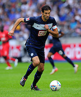 17. September 2011: Berlin, Olympiastadion: Fussball 1. Bundesliga, 6. Spieltag: Hertha BSC - FC Augsburg: Berlins Andre Mijatovic am Ball.