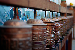 Jul. 26, 2012 - Prayer wheels (Credit Image: © Image Source/ZUMAPRESS.com)