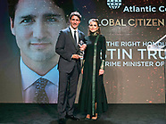 Queen Rania Presents Global Citizen Award To Justin Trudeau