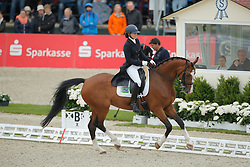 Lukasik Anna, (POL), Stella Pack Ganda<br /> Grand Prix Special<br /> CDIO Hagen 2015<br /> © Hippo Foto - Stefan Lafrentz