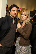 DANIEL PIRIE; TICKY HEDLEY-DENT, Neal's Yard Remedies Natural Beauty Honours and drinks party. King's Rd. London. 4 September 2008.  *** Local Caption *** -DO NOT ARCHIVE-© Copyright Photograph by Dafydd Jones. 248 Clapham Rd. London SW9 0PZ. Tel 0207 820 0771. www.dafjones.com.
