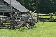 Mountain Farm Museum, Oconaluftee, North Carolina.