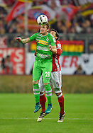 Tobias Strobl of Borussia Monchengladbach during the Bundesliga match between Bayern Munich and Borussia Monchengladbach at the Allianz Arena, Munich, Germany on 22 October 2016. Photo by Bernd Feil/pixathlon.