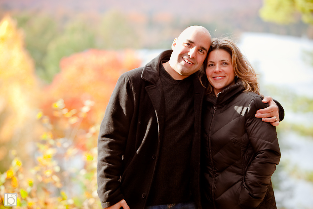 Oct 10, 2009: Wedding Celebration of Michele Milstein and Potter Polk in Lake Placid, N.Y.    (Photo ©Todd Bissonette)