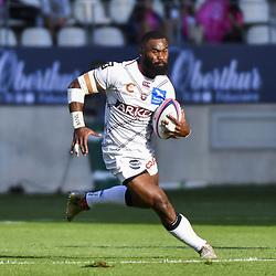 Semi Radradra of Bordeaux during Top 14 match between Stade Francais and Union Bordeaux Begles on September 1, 2018 in Paris, France. (Photo by Aude Alcover/Icon Sport)