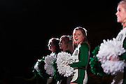 Ohio Univeristy cheerleaders at the Yell Like Hell Pep Rally. © Ohio University / Photo by Kaitlin Owens
