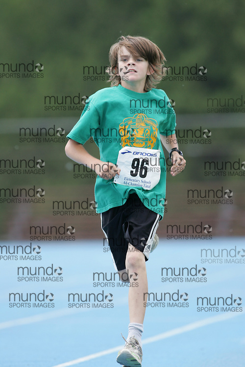 """Ottawa, Ontario ---14/06/08--- """"Vanderputten, Ryan"""" competes in the 400m at  the 2008 All Schools Elementary Meet of Champions in Ottawa, Ontario..Copyright Sean W. Burges, 2008. .This photograph is licensed for personal use  only."""