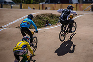 2018 Youth Olympic Games<br /> Buenos Aires, Argentina<br /> Mixed BMX - Race<br /> Motos<br /> RAMIREZ Juan (COL)<br /> CALKIN Cailen (NZL)<br /> SUKPRASERT Komet (THA)