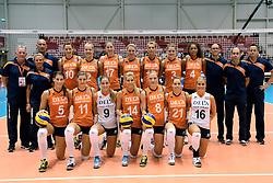 08-08-2014 NED: FIVB Grand Prix Nederland - Puerto Rico, Doetinchem<br /> Teamfoto Nederland