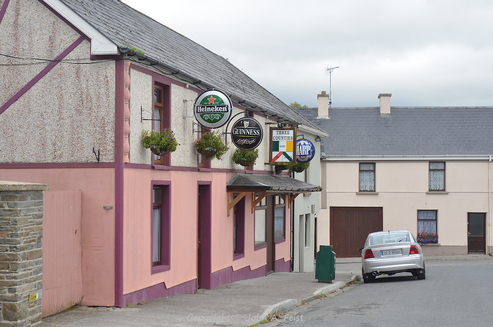 The Three Counties pub in Brosna, County Kerry Ireland
