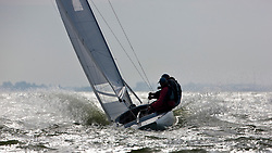Medemblik, the Netherlands, September 7th 2009. Gaastra Dragon worlds 2009. Second day of racing, race 2 © Sander van der Borch