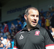 Ian Watson (Coach) of Salford Red Devils during the Super 8s The Qualifiers match at Mbi Shay Stadium, Halifax<br /> Picture by Stephen Gaunt/Focus Images Ltd +447904 833202<br /> 02/09/2018