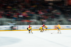 Alps Hockey League match between HC Pustertal and HDD SIJ Jesenice, on April 3, 2019 in Ice Arena Podmezakla, Jesenice, Slovenia. Photo by Peter Podobnik / Sportida