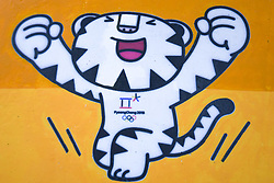 08-02-2018 KOR: Olympic Games day -1, Pyeongchang<br /> mascot during a preliminary reports ahead of the opening of the Pyeongchang 2018 Winter Olympic Games<br /> <br /> *** USE NETHERLANDS ONLY ***