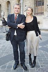 Paris - Sonia Rykiel Arrivals And Front Row - 03 Oct 2016