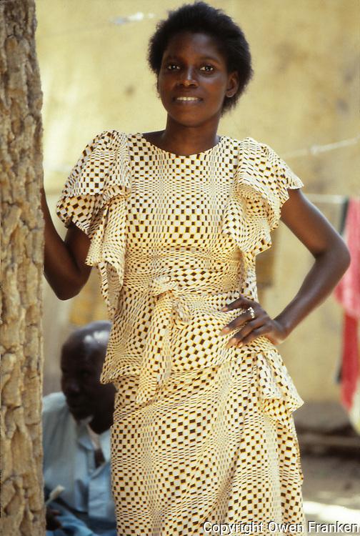 pretty woman in Senegal