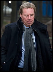 Harry Redknapp, the manager of Tottenham Hotspur football club, arrives at Southwark Crown Court on February 7, 2012 in London, England. Football manager Harry Redknapp and former Portsmouth FC chairman Milan Mandaric face charges of tax evasion between 2002 and 2004 when Mr Redknapp served as manager of Portsmouth FC. Photo by i-Images