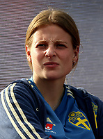 International Women's Friendly Matchs 2019 / <br /> Womens's Algarve Cup Tournament 2019 - <br /> Portugal v Sweden 2-1 ( Municipal Stadium - Albufeira,Portugal ) - <br /> Anna Anvegard of Sweden
