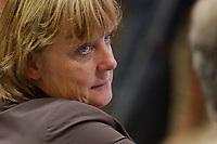 """2003, BERLIN/GERMANY:<br /> Angela Merkel, MdB, CDU Bundesvorsitzende, Veranstaltung """"Konvent zum Konvent"""" der CDU, Debis-Haus<br /> IMAGE: 20030512-02-010"""