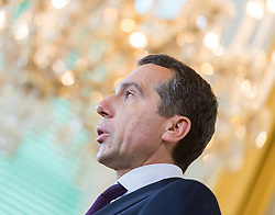 10.05.2017, Bundeskanzleramt, Wien, AUT, Bundesregierung, Statement des Bundeskanzlers anlässlich des Rücktritts von Vizekanzler Mitterlehner, im Bild Bundeskanzler Christian Kern (SPÖ) // Federal Chancellor of Austria Christian Kern during statement of the federal chancellor regarding to resignation of the austrian vice chancellor Mitterlehner at federal chancellors office in Vienna, Austria on 2017/05/10 EXPA Pictures © 2017, PhotoCredit: EXPA/ Michael Gruber