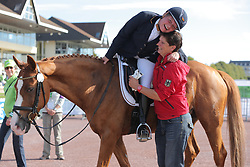 Brenner, Hannelore;<br /> Christensen, Dorte, Women of the World<br /> Normandie - WEG 2014<br /> Para<br /> © www.sportfotos-lafrentz.de/ Stefan Lafrentz