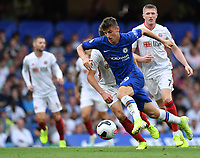 Football - 2019 / 2020 Premier League - Chelsea vs. Sheffield United<br /> <br /> Chelsea's Mason Mount in action during this afternoon's game, at Stamford Bridge.<br /> <br /> COLORSPORT/ASHLEY WESTERN
