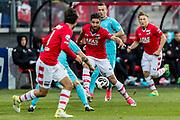 ALKMAAR - 22-04-2017, AZ - FC Twente, AFAS Stadion, AZ speler Alireza Jahanbakhsh