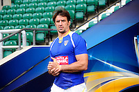 Julien PIERRE - 01.05.2015 - Captains' Run de Clermont avant la finale - European Rugby Champions Cup -Twickenham -Londres<br /> Photo : David Winter / Icon Sport