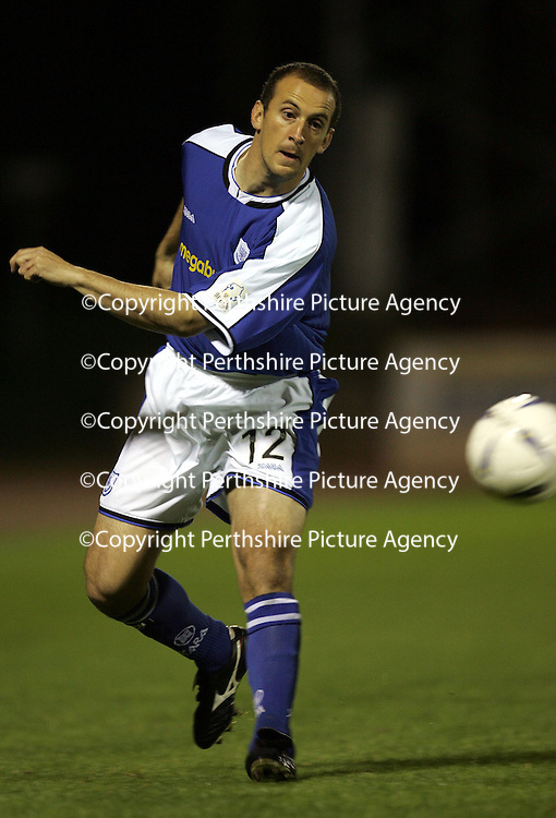 St Johnstone midfielder Paul Sheerin...Season 04-05<br /><br />Picture by Graeme Hart.<br />Copyright Perthshire Picture Agency<br />Tel: 01738 623350  Mobile: 07990 594431
