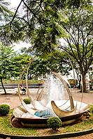Praça Coronel Bertaso. Chapecó, Santa Catarina, Brasil. / <br /> Coronel Bertaso Square. Chapeco, Santa Catarina, Brazil.