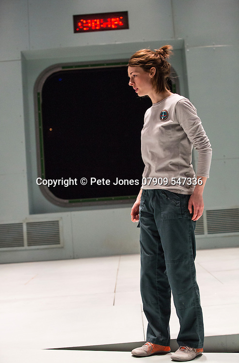 """""""X"""" by McDOWALL;<br /> Directed by Vicky Featherstone;<br /> Jessica Raine (as Gilda);<br /> 1 April 2016;<br /> Jerwood Theatre Downstairs, Royal Ct, London, UK"""