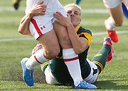 Arnold Lim/News staff<br /> World Rugby Women's Sevens Series at the Westhills stadium in Langford. April 18, 2015.