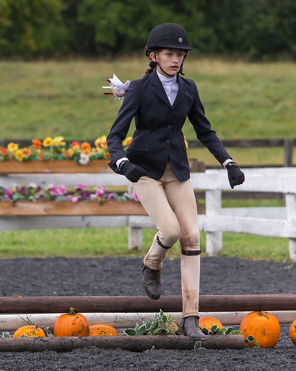 Image from the October 10, 2016 Hunter horse show Halloween classes held at Elmington Farm in Berryville, Virginia