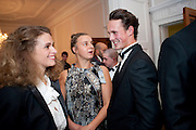 FRANCESCA CICIC; SARAH POFFA; CHARLES HUNT;  Tuxedo: The Little Black Jacket project Ð a collaboration between London College of Fashion and Henry Poole and Co, Quintessentially . 29 Portland Place, London. 7 September 2011. <br /> <br />  , -DO NOT ARCHIVE-© Copyright Photograph by Dafydd Jones. 248 Clapham Rd. London SW9 0PZ. Tel 0207 820 0771. www.dafjones.com.<br /> FRANCESCA CICIC; SARAH POFFA; CHARLES HUNT;  Tuxedo: The Little Black Jacket project – a collaboration between London College of Fashion and Henry Poole and Co, Quintessentially . 29 Portland Place, London. 7 September 2011. <br /> <br />  , -DO NOT ARCHIVE-© Copyright Photograph by Dafydd Jones. 248 Clapham Rd. London SW9 0PZ. Tel 0207 820 0771. www.dafjones.com.